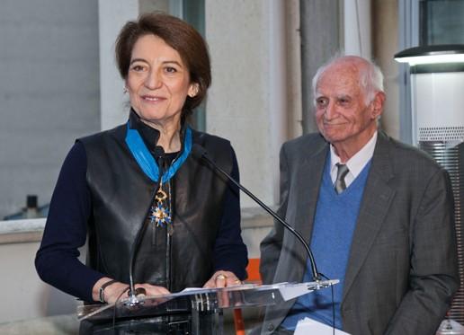 Simone Harari, Commandeur de l'Ordre national du Mérite