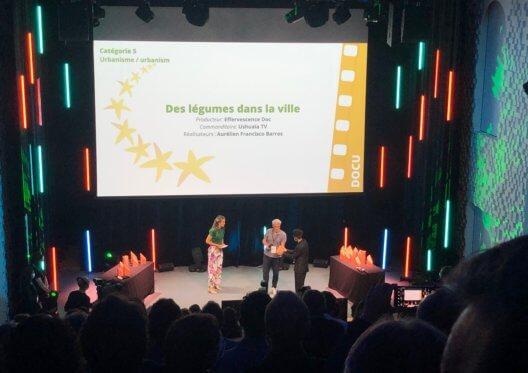 Des légumes dans la ville - Trophée d'Or aux Deauville Green Awards 2021!